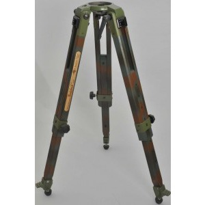 Camouflage Tripod Franz Bagyi Edition for 100 mm Leveling Unit - Picture 1